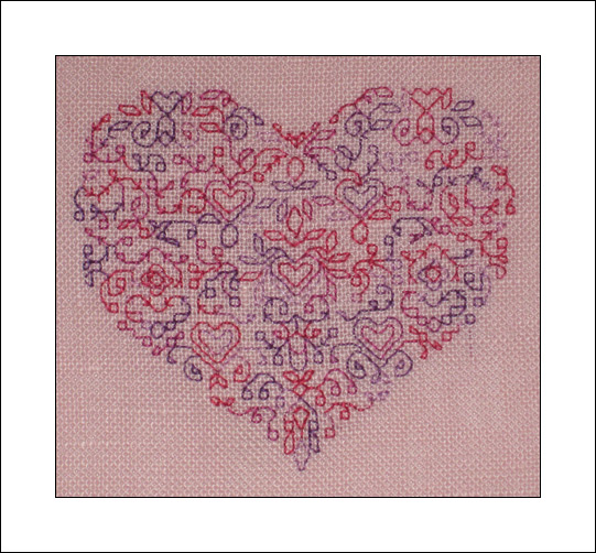 Variegated Heart, Finished